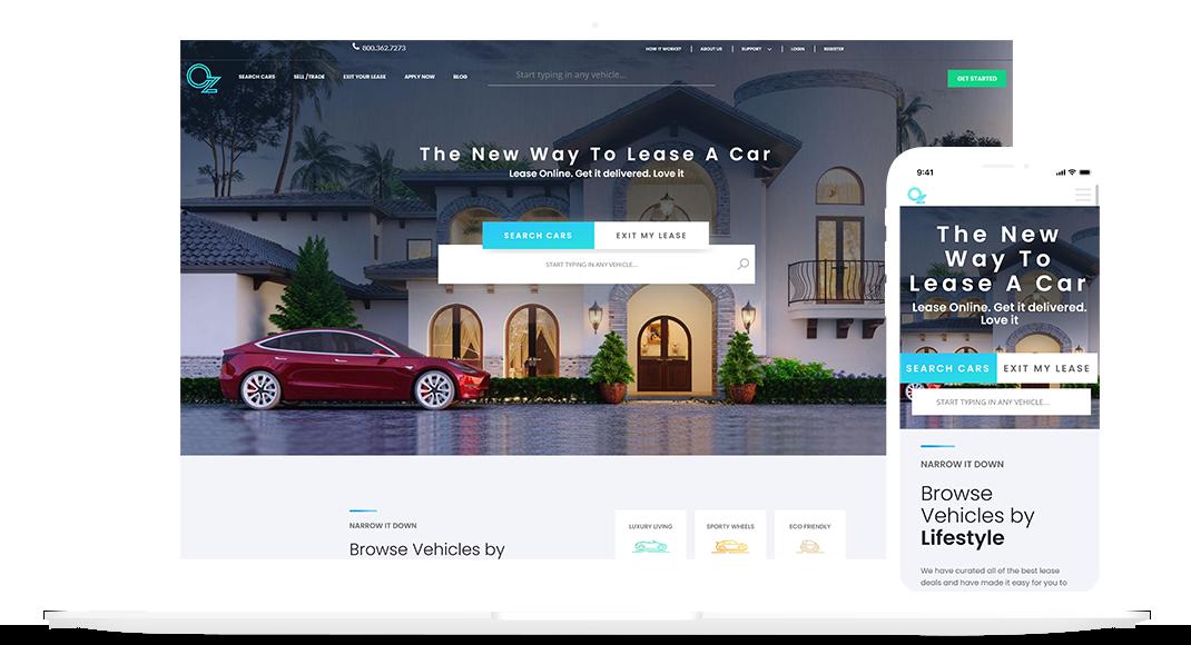 OZ Leasing Website