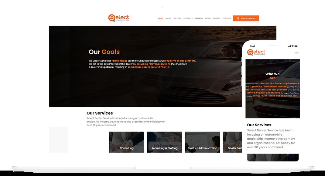Select Dealer Website