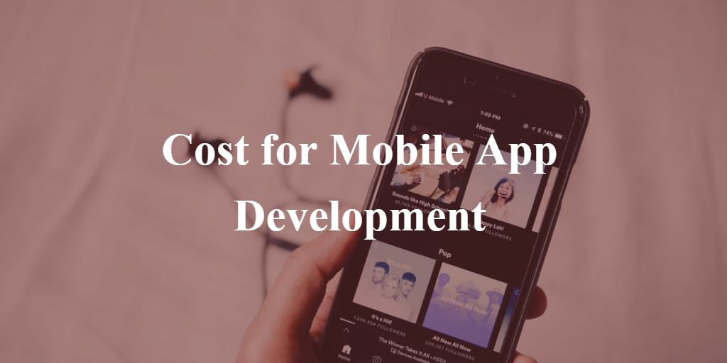 Cost of iphone app development
