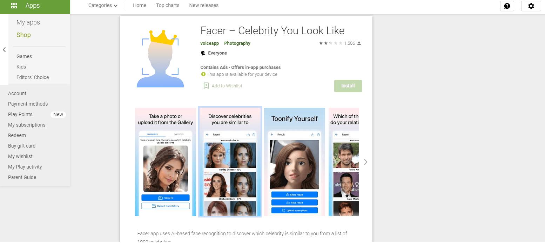 Facer App
